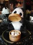 招福門のパンダ