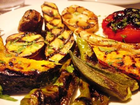 グリリアイノウエ 有機野菜のグリル
