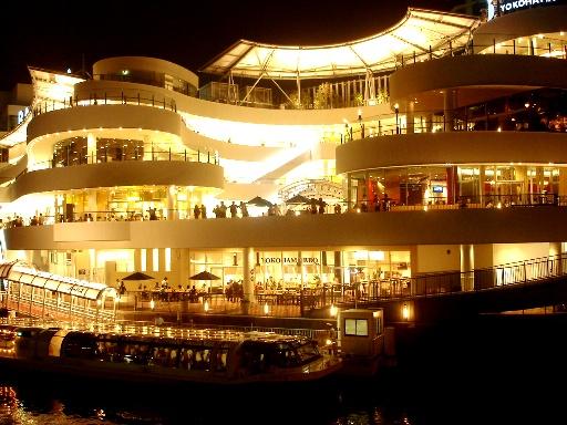 横浜ベイクォーター 夜景