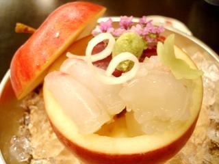 日本料理 植村 お造里