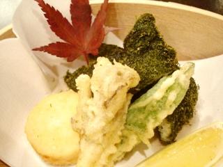 日本料理 植村 油もの
