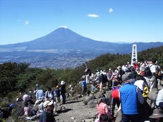 箱根金時山からの富士山 2006.10.8.
