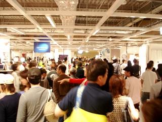 IKEA 横浜港北 店内の様子