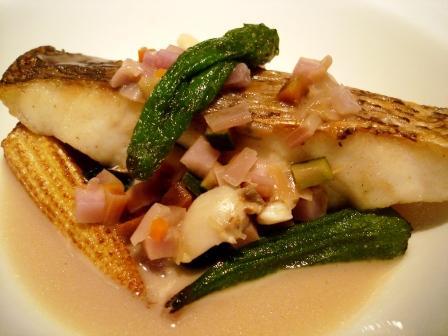 ストラスブール 天然鮮魚のポワレ