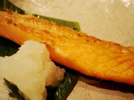 ニセコひらふ・居酒屋「楽」 鮭ハラス