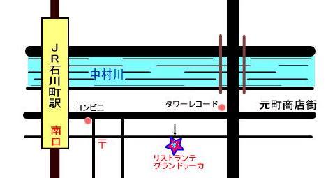 横浜元町グランドゥーカ地図