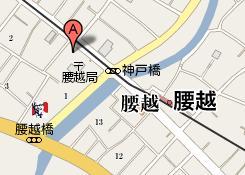 鎌倉腰越ロアジ地図